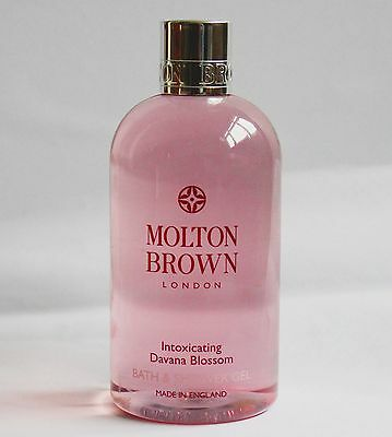 Molton Brown Intoxicating Davana Blossom Bath and Shower Gel 300ml NEW FREE P&P