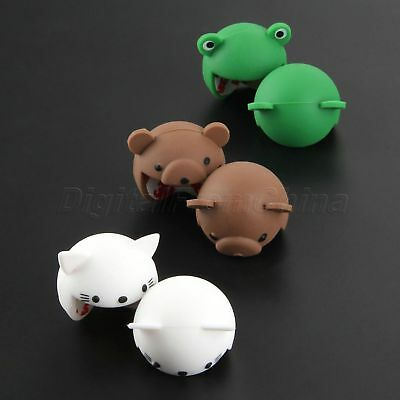 2Pcs Cute Silicone Baby Safety Protector Desk Table Corner Edge Protection Cover