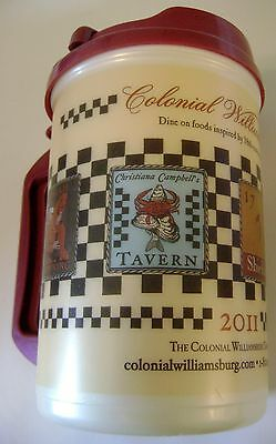 Colonial Williamsburg Taverns Whirley Mug Coca Cola Restaurants Hot Cold Drinks