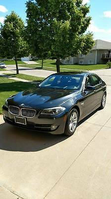 2012 BMW 5-Series 528 xi 2012 BMW 5 Series 528 xi X Drive Grey Sedan Automatic, Leather, Sport, Sunroof