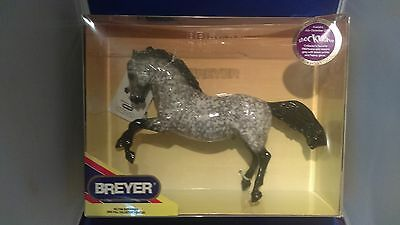 Breyer Traditional - Glossy Fighting Stallion - Shockwave - Awesome - NIB!!