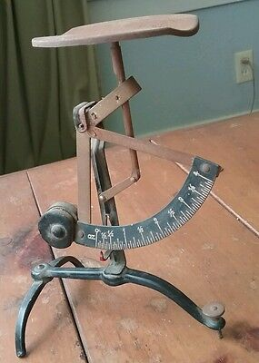 Antique German Brass letter/postal Scale  -small size