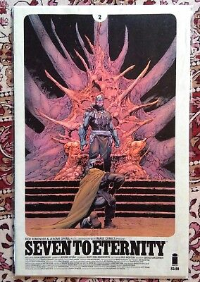 seven to eternity 2 First Print Image Comics
