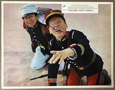 Kenneth Williams Peter Butterworth Carry On In the Legion 1967 lobby card 878