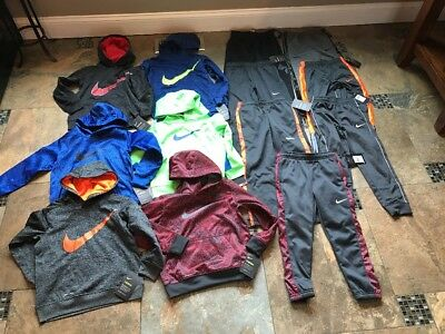 Lot Of New Boys Athletic Clothes(Nike, Under Armour)-size 6