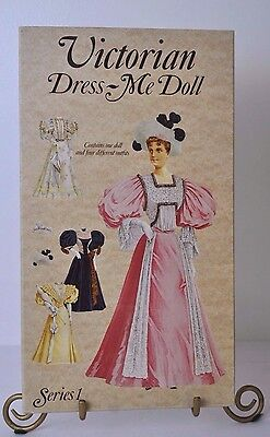Victorian Dress-Me Doll Series 1 paper doll set from England 1990
