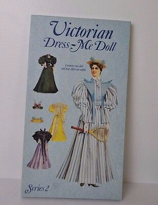 Victorian Dress-Me Doll Series 2 paper doll set from England 1991