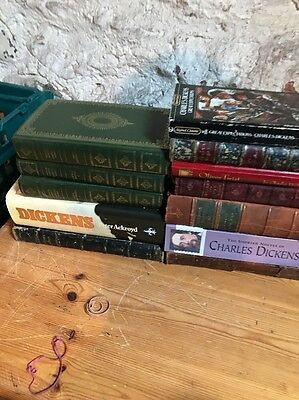 Collection Of Charles Dickens Books