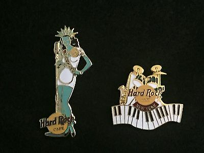 2 Hard Rock Cafe pins from NEW YORK