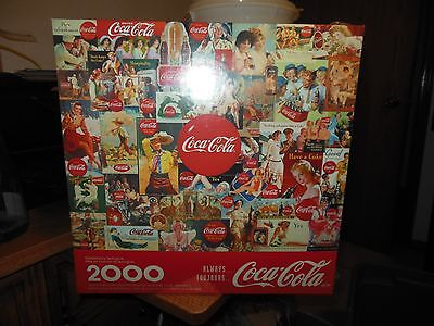 NEW other sealed Coca-Cola Always Toujours 2000 pcs Springbok Jigsaw Puzzle 1998