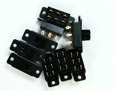 5 x PIC Switches SS-22L05-G9-B Miniature Slide Switch, 2 Pos DPCO 50V DC 0.5A