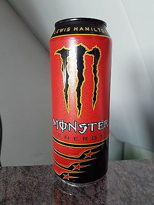 Collectable Monster Energy Lewis Hamilton Can 16.9oz 500mL Germany Rare