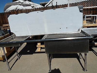 PRODUCE DEPT.2 Compartment SINK Brand New By John Boos
