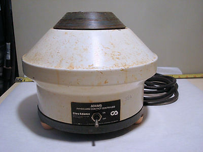 Clay Adams Cat# 0131 Physicians Compact Centrifuge