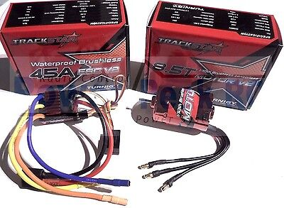 Turnigy Trackstar Waterproof 1/10 Brushless System Motor & Speed Control ESC