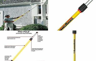 Mr. Long Arm Pro-Pole 4-to-8 Ft Telescoping Threaded Extension Dust Paint Job
