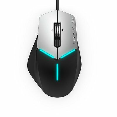 NEW Alienware Advanced Gaming Mouse AW558 AlienFX lighting effects