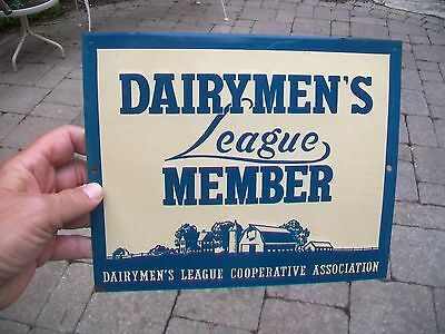 Vintage Dairymen's League Coop Association Member Dairy Farm Sign