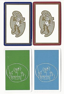 PEOPLE - 4  -   single vintage playing cards