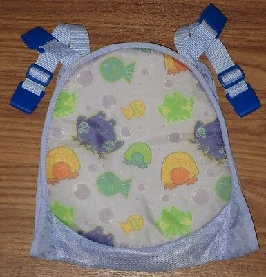 First Years Replacement Sling for Sure Comfort Deluxe Newborn Toddler Tub Blue