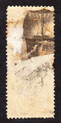H866A US R53c (EFO) SHIPS SAILS ON REVERSE 40c INLAND EXCHANGE 1862-71