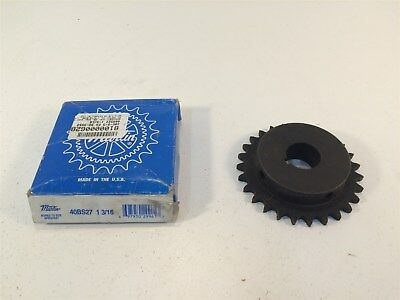 "Martin 40BS27 1 3/16 Sprocket Made in USA 40 Chain 27T 0.5"" Pitch 1.188"" Bore"