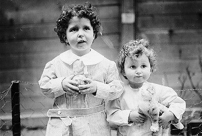 Titanic Survivor PHOTOS, Famous Orphans Louis & Lola,April 1912 Disaster Sinking