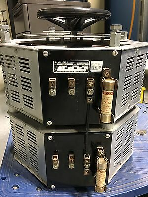 POWERSTAT 1156D-2S Variable Autotransformer 14KVA  0-280V 50Amps