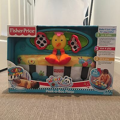 Fisher Price Peek A Boo Piano