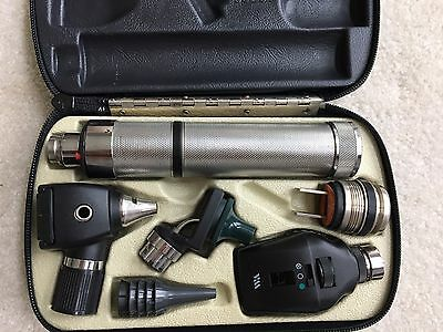 Welch Allyn Otoscope  Opthalmoscope Rechargeable Diagnostic Set (Complete )