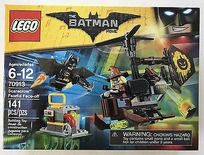 Lego The Batman Movie 70913 Scarcrow Fearful Face-off new in sealed box