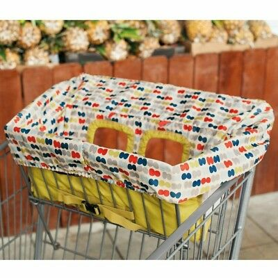 Skip Hop Take Cover Shopping Cart & High Chair Cover, Double Dots