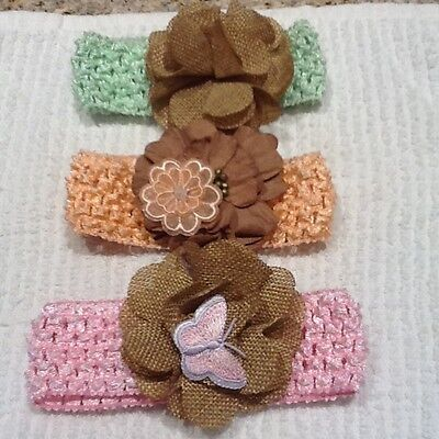 Baby Headband Toddler Lace Bow Flower Hair Band Accessories Headwear
