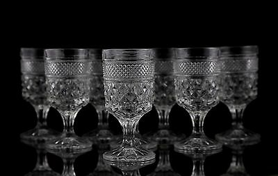 Anchor Hocking Wexford Claret Wine Glasses, Set of (8)