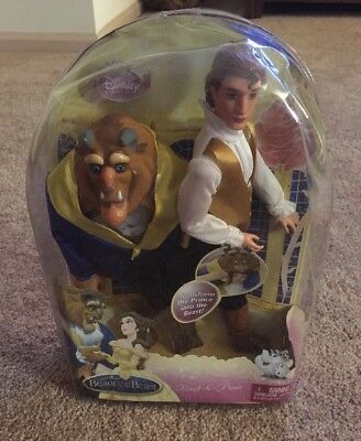 Beauty And The Beast Transforming Beast To Prince Doll...New In The Box! NIB