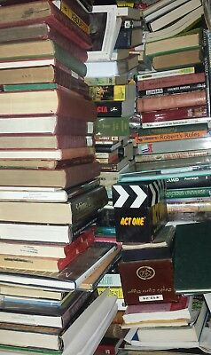 10 COLLECTIBLE VINTAGE Rare BROWN or MULTI- COLOR COORDINATED Hardcover BOOKS VG