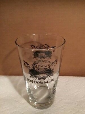 Reno Brewing Co Ponderosa Pale Ale Pint Beer Glass