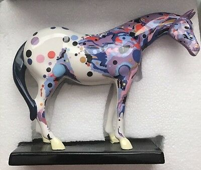 The Trail of Painted Ponies MOSAIC APPALOOSA #1466 Beautiful RARE