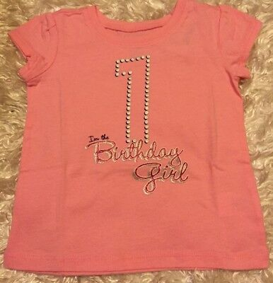 Nwt Pink Im The Birthday Girl 1 One T