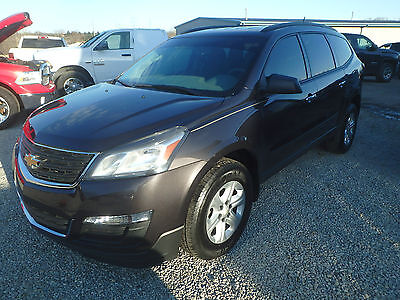 2015 Chevrolet Traverse LS Sport Utility 4-Door 2015 Chevrolet Traverse LS AWD, salvage, non wrecked, repairable