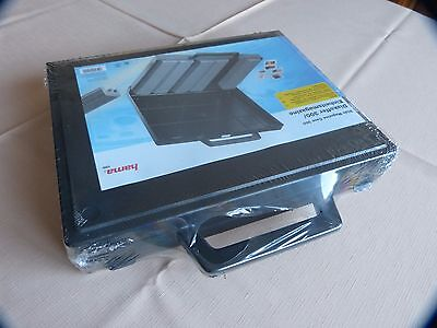 Hama / Jessop 6X50 Universal Slide Storage Magazines In Briefcase Style Box