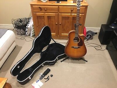 Seagull Entourage Rustic CW GT QI guitar + accessories