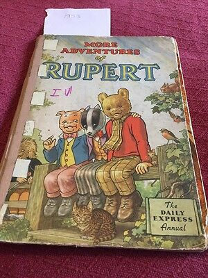 Rupert Bear Annual 1953 Rare First Edition