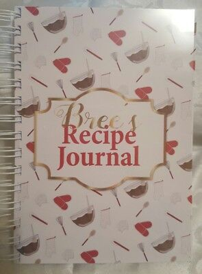 A5 ~ Recipe Journal ~ *Handmade* ~ for thermomix ~ kitchenAid ~ Tefal and more