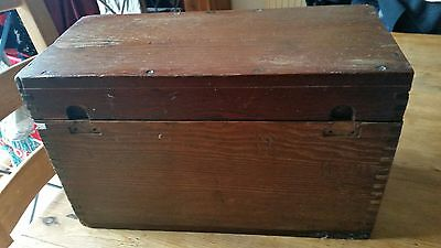 Old Pine Wooden Box