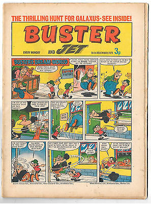 Buster 18 Dec 1971 (top grade) Faceache, Galaxus, Fishboy, Clever Dick...