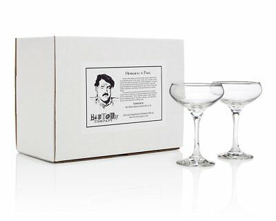 The Ritz Paris Cocktail Coupe Gift Box Set of 2