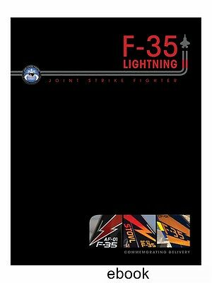 F-35 Lightning II commemorating delivery