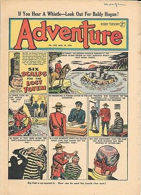 Adventure 1335 (Aug 19, 1950) high grade copy