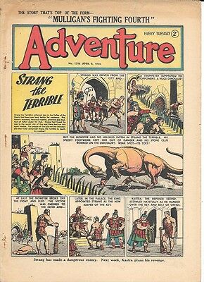 Adventure 1316 (Apr 8, 1950) high grade - Strang by Dudley D Watkins